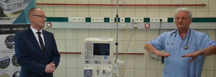 Nowy aparat do hemodializy