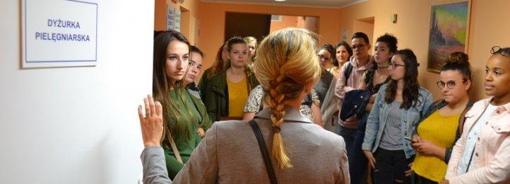 Studyjna wizyta młodzieży z Francji