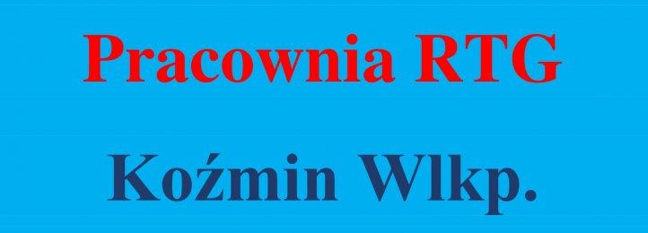 Ogłoszenie dotyczące pracowni RTG w Koźminie Wlkp.