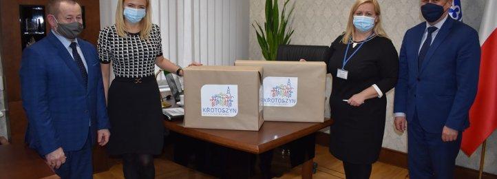 Komputer dla Szpitala od gminy Krotoszyn