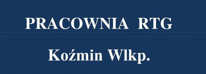 AKTUALIZACJA. Wznowienie pracy PRACOWNI RTG w Koźminie Wlkp.