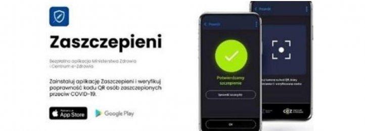 Zaszczepieni - darmowa aplikacja