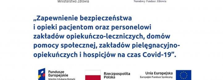 Otrzymaliśmy unijny grant dla Zakładu Opiekuńczo-Leczniczego w Krotoszynie